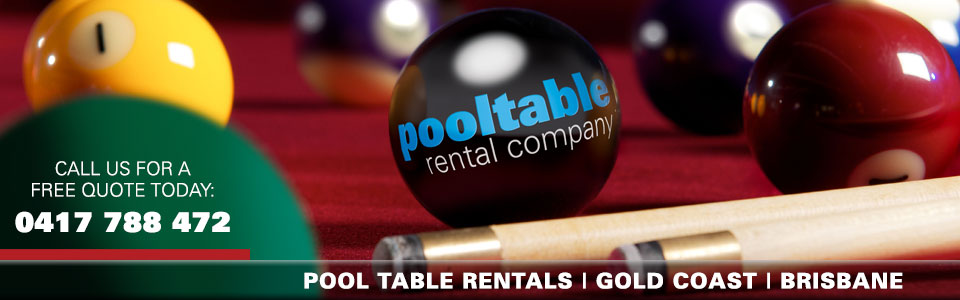 Pool Table Rental Company